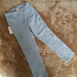Faded Glory Light Blue Stretch Pants Sz 4-6